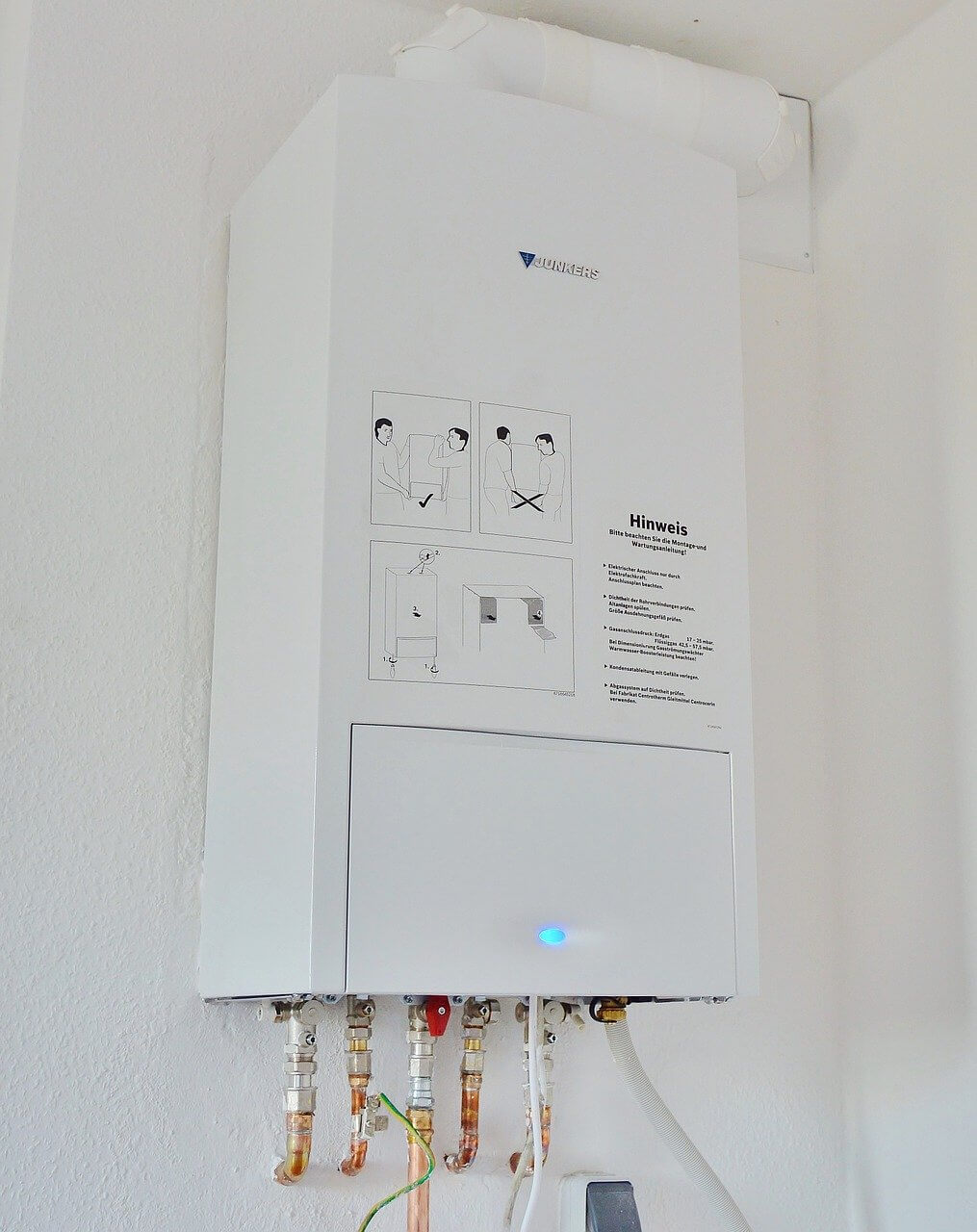 water heater installation new haven ct